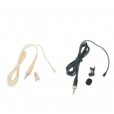 MiCWL E6 Wireless Lapel Lavalier Microphone For Sennheiser G1 G2 G3 G4 Tie Clips BodyPack Transmitter Beige Black Option